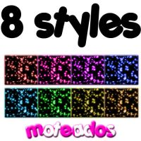 8 estilos moteados by DivasAndSuperstars