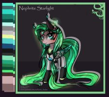 Commission Reference: Nephrite Starlight by Wilvarin-Liadon