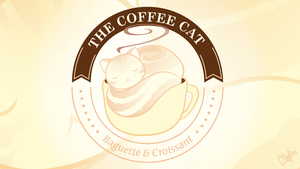 Coffee Cat by miri-chiwa