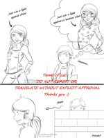 Miraculous - Adrien starts to understand things p1 by Mind3ll