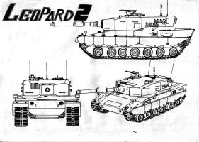 Leopard 2 by Xandier59