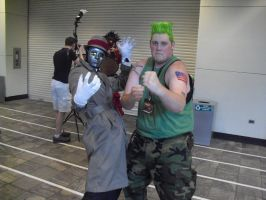 guile and Q2 by dante-is-god