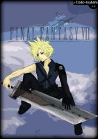 Final Fantasy: Cloud Strife. by todo-mahem