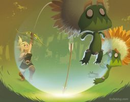 Wakfu - fan art by ThornBulle