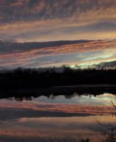 Reflections in a Winter Sky by Brian-B-Photography
