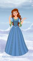 Princess Jenna of Arendelle by LuluCalliope
