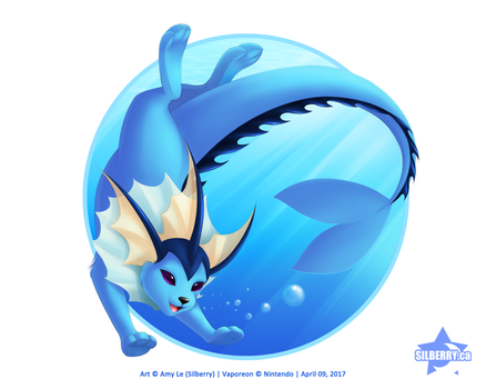 Vaporeon by Silberry