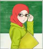 Teacher by lacusyamatoo