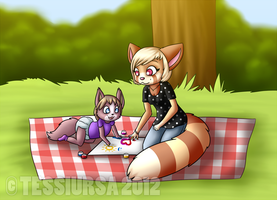 Fingerpainting! by tessiursa