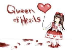 Queen of Hearts by RAWRamehRAWR