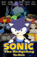 Sonic the Hedgehog The Movie Poster by Checkz3