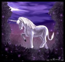.:The Silver Unicorn:. by FleetingEmber
