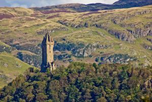 Wallace Monument REDUX by BusterBrownBB