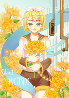 Vocaloid:Kagamine Rin by mabong1989