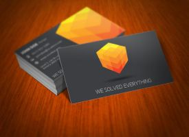 Cubic Business Card 03 by KaixerGroup