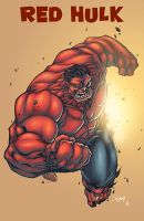 Red Hulk Return by logicfun