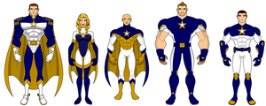 All Stars - Character and Costume Designs by SplendorEnt