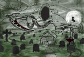 Death is waiting 2 by Unreal-max