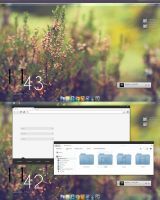 My Desktop Screenshot + Download ( Windows 7 ) by Rachid7Hmid