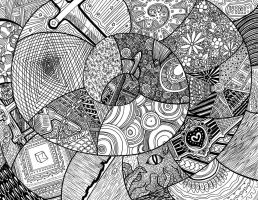 Zendoodle Madness by ratopiangirl