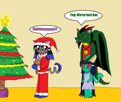 Christmas - tis the season to...SHINIES! :D by LaLaLaNiceLady