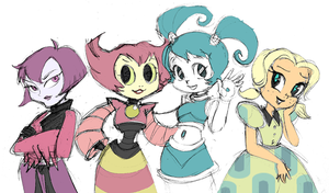 MLAATR-Teen Girl Squad by queenbean3