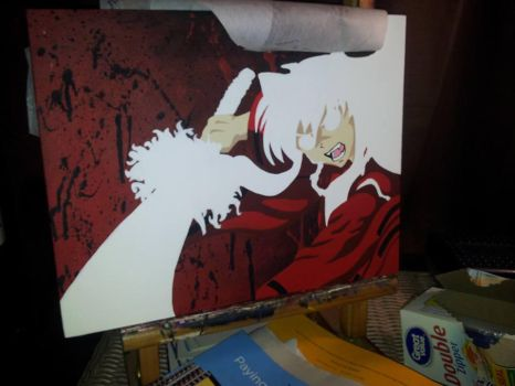 Wip Inuyasha Fan Art #2 by mSanchez89