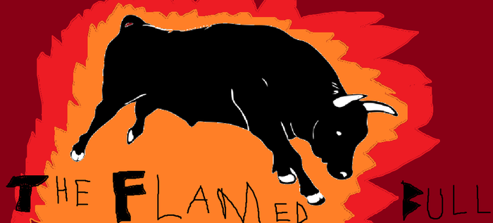 The Flamed Bull by breawsomegreen