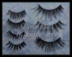 Diva Lashes by flordelys-stock