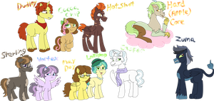 A WHOOOOLE BUNCH OF MLP FOALS by PurfectPrincessGirl