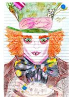 The Mad Hatter -Coloured by pinocchiosVices