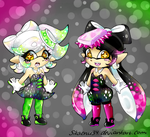 Squid Sisters by Sikachu34