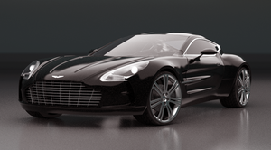 Aston Martin One 77 WIP by pierre-allard