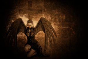 Fallen Angel by krissybdesigns