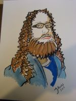 SCC Sketch Day - Hairy Dude by JesseAcosta