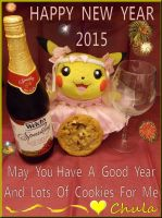 Happy New Year Love Chula by pikabellechu