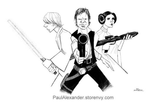 Star Wars by PaulAlexander1