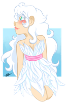 White Feathers by SpaceyJessi