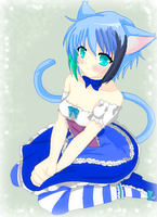 Cute Neko Girl by TFAfangirl14