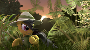 [SFM] Daring Do by LuminousDazzle
