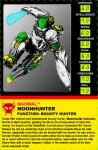 Moonhunter Tech Spec card by JZLobo