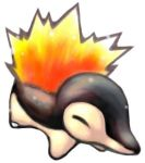 Cyndaquil by SailorClef