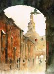A view on st Anne street by sanderus