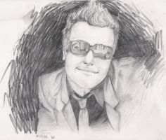 Tre Cool pencil 2 by violeta1354