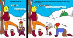 foot cannibal baby sitter in the snow 779 by footeat