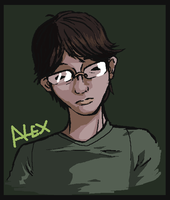 Alex doodle by Cageyshick05