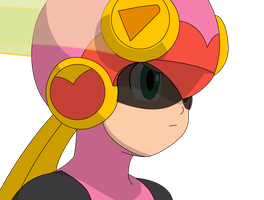 Roll.EXE Vector (w/ Shades) by LuigiBlood