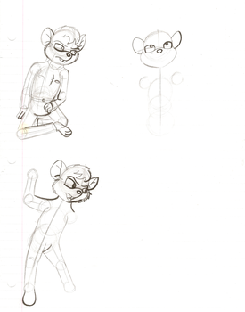 GMD WIP: More Jacob Johnson Doodles by MouseAvenger