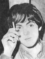 Paul McCartney cigarette by Macca4ever
