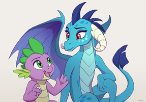 Dragons and Tales by Akeahi